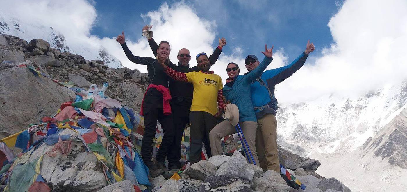 Base Camp at Everest