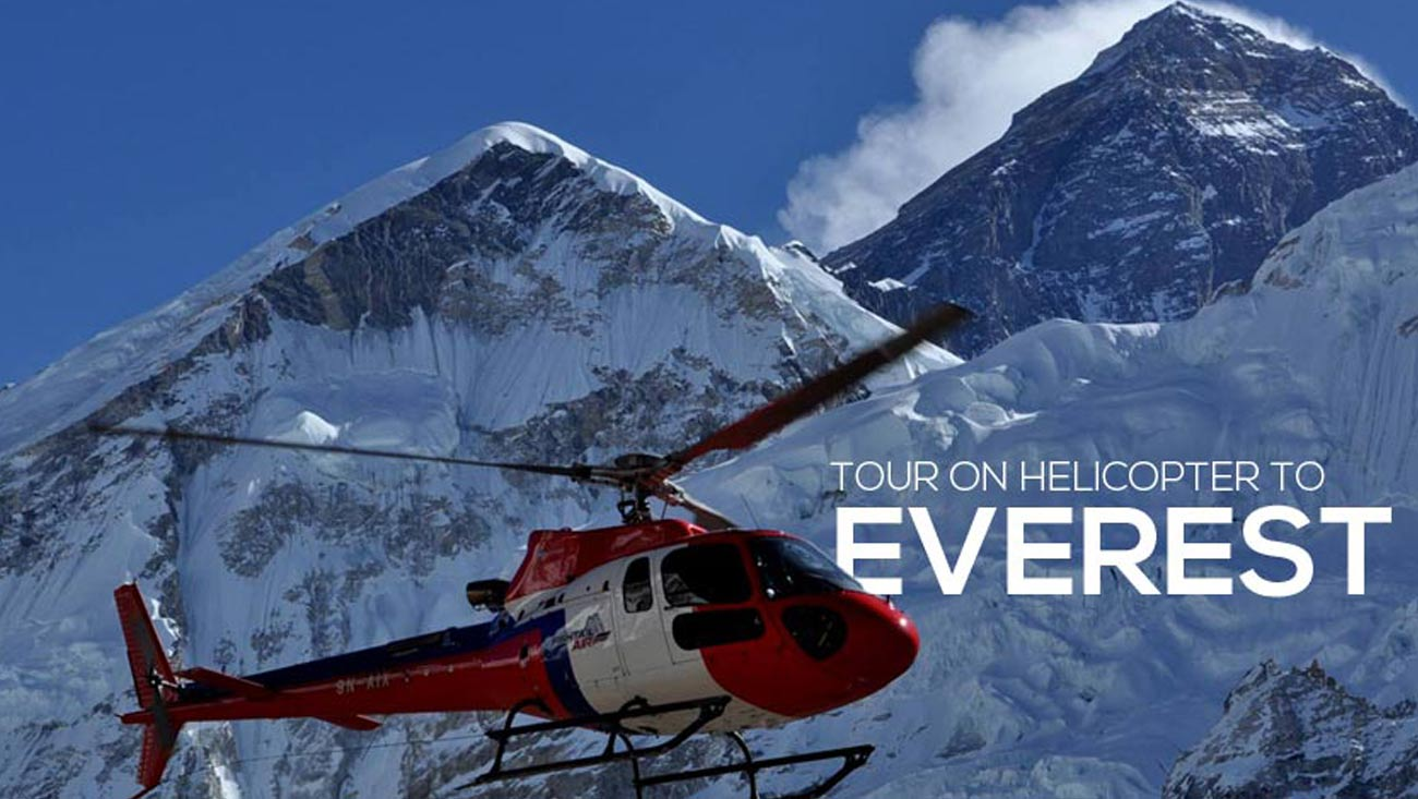 Everest tour on Heiicopter
