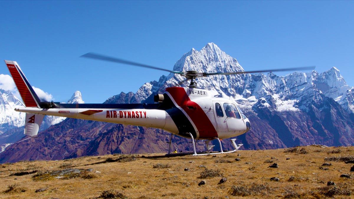 Annapurna Helicopter Trek