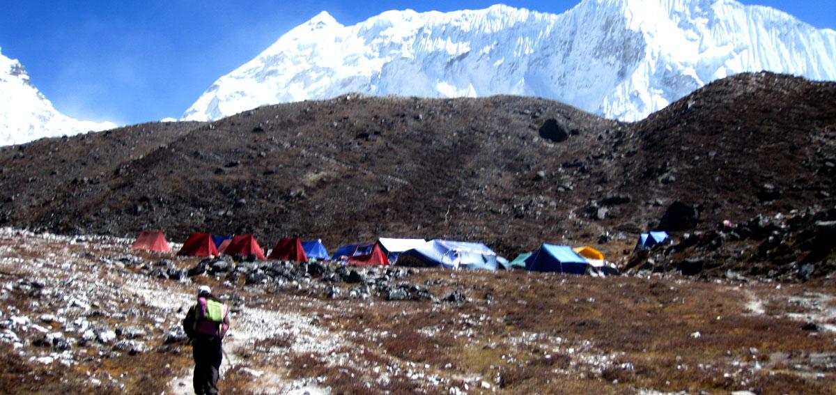 Isand Peak Base Camp