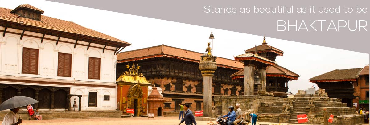 Bhaktapur a beauty even after earthquake