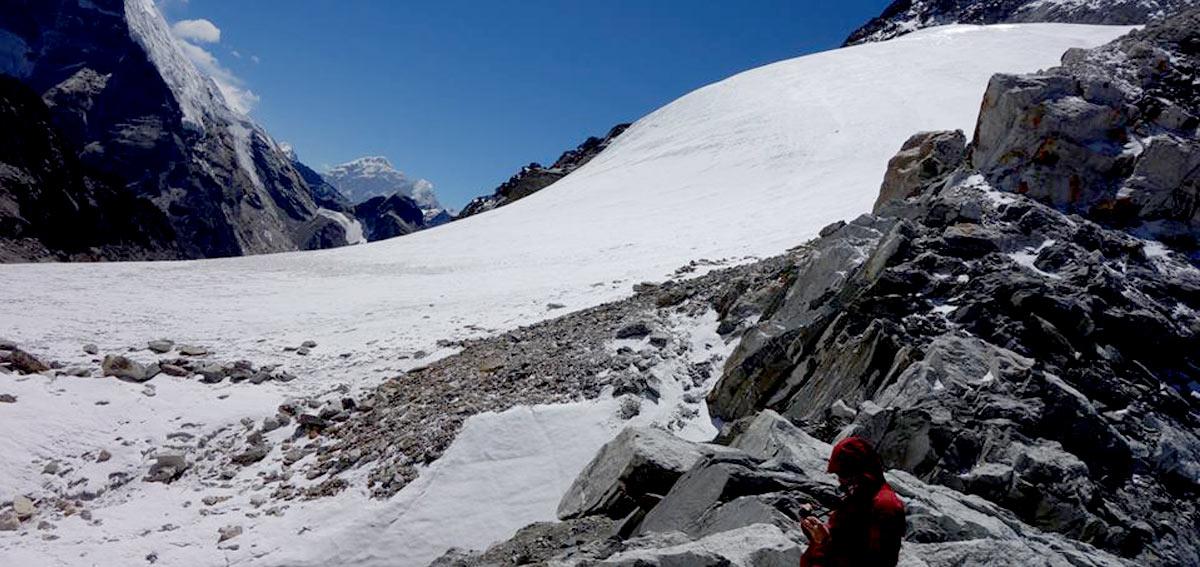 Cho La Pass -Glacier