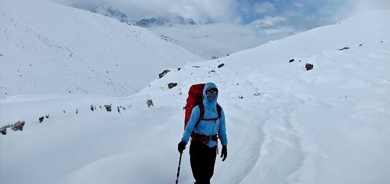 Everest Base Camp In winter