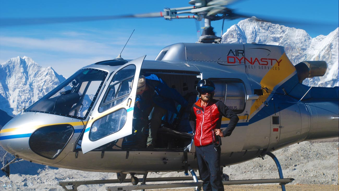 Everest Base Camp Helicopter Trekking