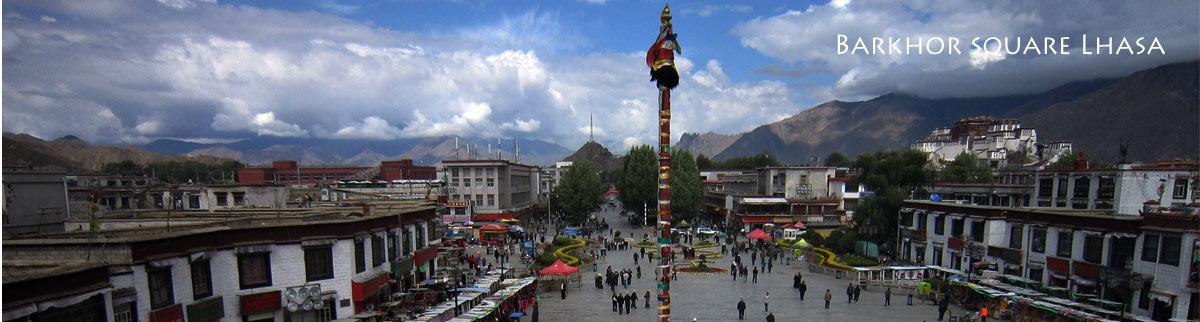 barkhor square lhasa