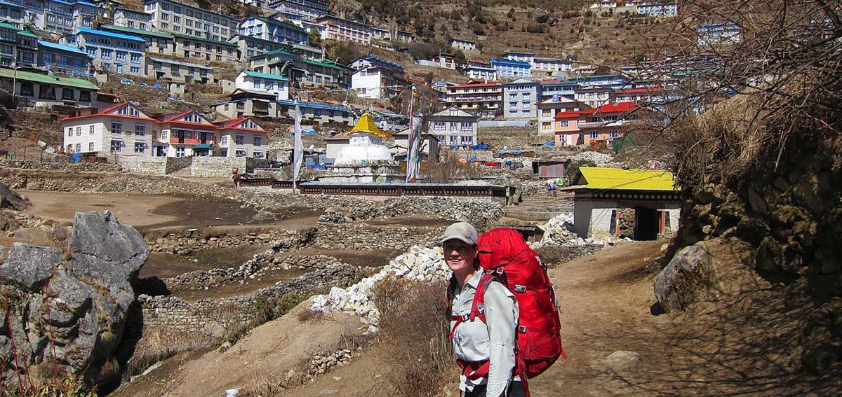 Day 03: Trek to Namche Bazaar