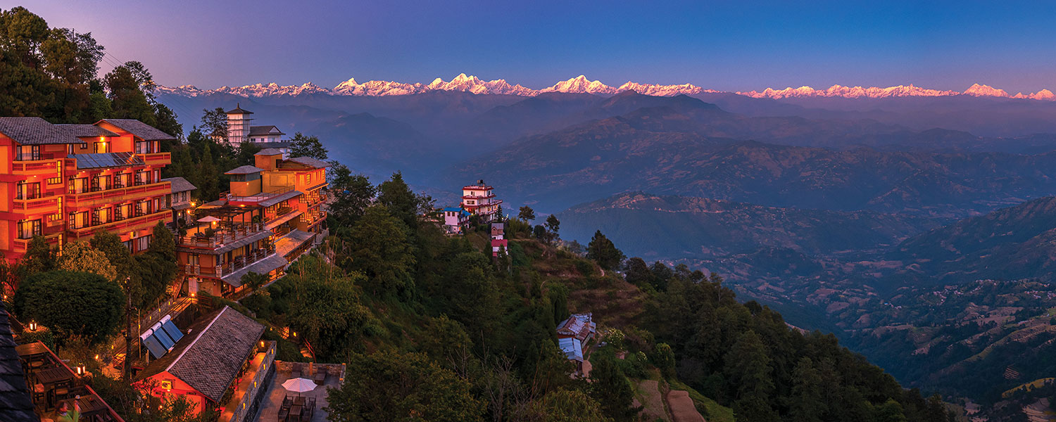 >Nagarkot Sunrise Hiking